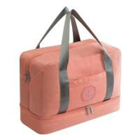 China Waterproof Travel Luggage Bag Large Capacity Double Layer Portable Duffle Bags supplier