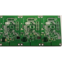 Green Immersion TIN TS 16949 Halogen Free Pcb With Blind Via