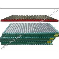 SS304 / SS316 Material Shale Shaker Screen , Double / Triple Deck Vibrating Screen for sale