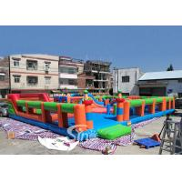 China The big bounce kids and adults blow up inflatable theme park for indoor inflatable playground fun for sale