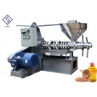 Mustard Seeds Peanuts Cold Press Oil Extractor Spiral Oil Making Machine With Low Nosie for sale