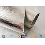 China UV Resistant , Age Resistant 300℃ Aluminium Foil Fiberglass Cloth manufacturer