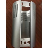 6063 T5 Sand Blasted Anodized Aluminum Air Purifier / extruded aluminum profiles CNC Machined for sale