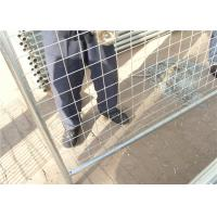 China Outdoor commercial metal galvanized Australia temporary fencing for safety for sale
