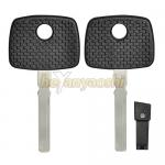 China Auto Car Key Blank Shell for 1998-2009 Benz Mercedez Transponder Key Shell Case Replacement for sale