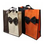 80gsm non woven fabric Non Woven Carry Bag Splicing matching fashionale colorful promotion bag for sale