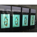 1920*1080 400cd/m2 Transparent LCD Panel 178º For Showcase