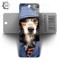 PET Customized Dog 3D Lenticular Bookmark For Art And Collectible for sale