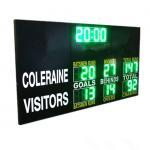 China Customised Design LED AFL Electronic Scoreboard Portable Back Maintenance 60kgs for sale