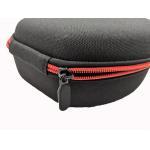 Customezied Hard Headphone Case Zipper Closed Portable Headphone protective case