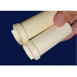 China Custom Advanced Zirconia ZrO2 Ceramic Electrical Insulator Tube High Hardness for sale