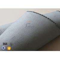 China 1600GSM 1.2MM Gray Silicone Coated Fiberglass Fabric For Flexible Joints supplier