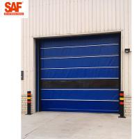 China Fast shutter door with Protection PVC Roll Up for clean area factory automation for sale