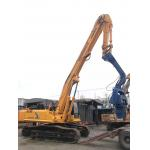 China Yellow Color Concrete Pile Driving Machine High Construction Efficiency factory