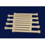 China Polished Alumina / Al2O3 Ceramic Shaft For Medical Injection Pump Wear Resistant for sale