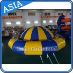 Giant Water Floating Inflatable Saturn Rocker / Inflatable Water Disco Boat for sale