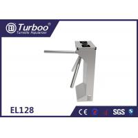 Drop Arm Optical Barrier Turnstiles Tripod Security Gates For University Dormitory for sale