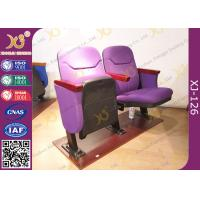 China Small Size Space Saving Lecture Hall Chairs Without Writing Table supplier