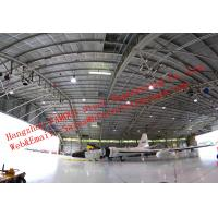 Waterproof Insulated Prefabricated Steel Structure Aircraft Hangar For Private Usage for sale