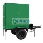 Mobile Transformer Insulating Oil Purifier Single Axle 3000LPH ZYD-M-50 for sale
