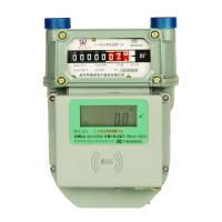 IC Card Prepaid Gas Meter G1.6 / G2.5 / G4 With Aluminum Body Case for sale