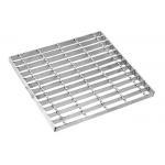 Pressure Locking Metal Grate Panels, Top Railroad Steel Walkway Grating for sale