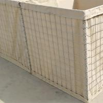 Galvanized Welded Military Sand Gabion Box Wall Hesco Barrier , Security Military Gabion Box for sale
