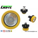 Affordable 190g Light weight and small size 5000lux strong light IP68 water-proof grade LED miner cap lamp