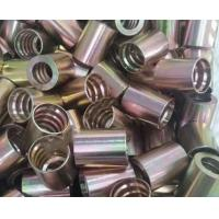 China Stainless Steel Hose Sleeve PVD Coating Service Cathodic Arc Plating Rose Gold supplier