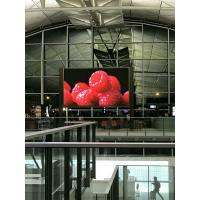 China 2000 Nits P6 Indoor LED Displays SMD Video Full Color Hanging Panel Boards for sale