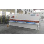 Hydraulic NC Hydraulic Shearing Machine Metal Cutting Shear E21 Control System for sale