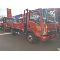 84Hp Light Duty Commercial Trucks 5 Ton Loading Capacity Sinotruk HOWO for sale