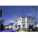 China Light Steel European Style Prefabricated Villa / prefabricated multi storey building for sale