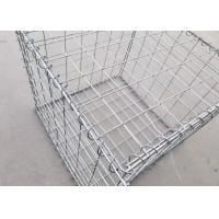 Security Military Gabion Box Military Hesco Barriers With Many Colors Filled By Sand for sale