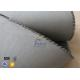 China Grey 1500gsm 1.5mm E Glass Cloth , Silicone Coated Fiberglass Cloth Sheets for sale