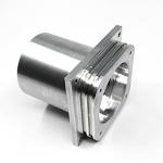 Dovetail Grooves CNC Machining Services Aluminum Parts O Ring Design for sale