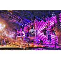 4.8mm Outdoor Led Concert Screens for Background Rental5000CD/m2 Brightness 8 Mins To Install for sale