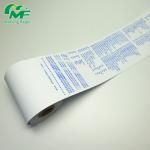 China Tight Rolling Thermal Cash Register Rolls , Pos Machine Paper Rolls Worldwide Universal Core for sale