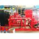 China CCCF Standard Horizontal Centrifugal Split Case Fire Pump Set With Cummins Diesel Engine for sale