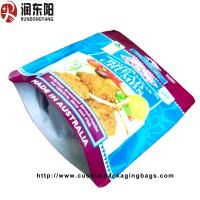 Durable Custom Packaging Bags , Plastic Stand Up Pouch Food Bags Reusable for sale