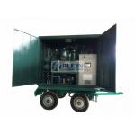 Weather Proof and Dust Poof, 4 Wheels Mobile Type Vacuum Transformer Oil Purifier ZYD-WM-100(6000LPH) for sale