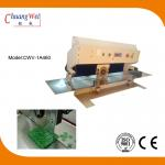 China Optional Depaneling Stroke PCB Depaneling With Circular And Linear Blades for sale