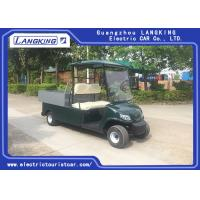 China 2 Perosn Electric Utility Vehicle With Basket And Cargo Van Loading 650kgs for sale