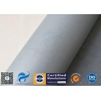 China Exchanger 1050gsm Silicone Coated Fiberglass Cloth For Insulation Jacket for sale