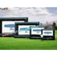 OEM Outside Wide Inflatable Movie Screen projection Display, Outdoor Large Screen