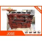 China J05E Excavator Cylinder Block J05E Engine Long Block 11401-E0702 For  KOBELCO  SK200-8 for sale