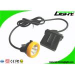 Safety Miners Cap Lamp 7.8Ah Li - Ion Battery 10000Lux High Beam Corded Type for sale