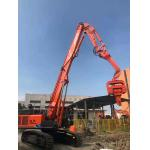 China Powerful Concrete Pile Driving Equipment , Hydraulic Pile Driving Machine factory