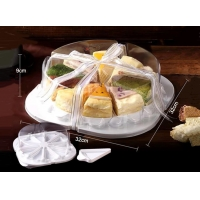 Diameter 32cm 10 Piece Disposable Cheesecake Trays for sale