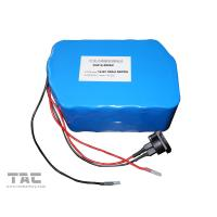 12V LiFePO4 Battery Pack  f'or Street Lamp  IFR 26650 50ah With Connector for sale